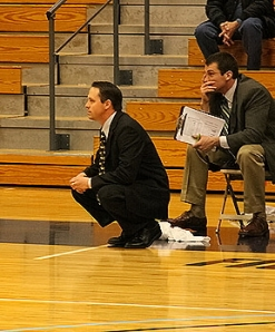 Mike Schauer and Keith Krass look on as Gordon regains its winning touch at home.
