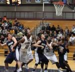 action under the basket