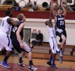 David Dempsey glides in for two of his sixteen points