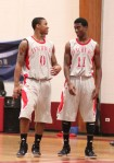 Harry West (0) and Tyri Morring (11)