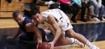 Chris Alderson and Nico Donato battle