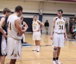 Sophomore John-Michael Fragnoli had thirteen points