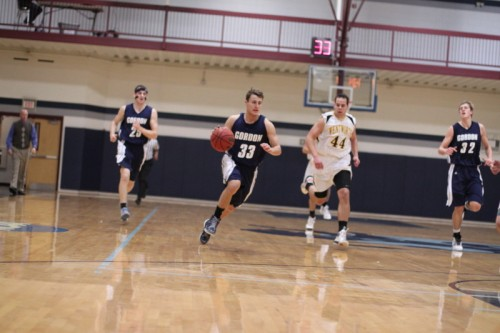 Park Thomas (20 points) had a career game against Wentworth