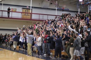A large Bennett Center crowd had plenty to cheer about