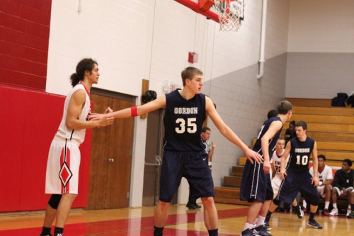 Hans Miersma recorded his seventh double/double (15 points/13 rebounds) of the season in win over ENC
