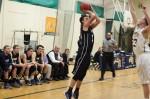 Luke Hamilton fires a jumper
