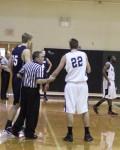 referee discusses behavior issues