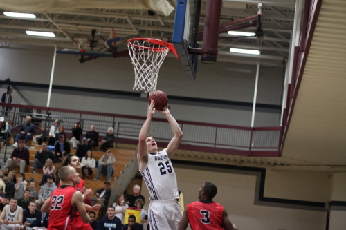 David Dempsey (13 points and 13 rebounds) had a big game for Gordon