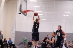 Taylor Bajema rebounds
