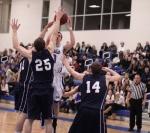 Tight GC defense on Devin Thompson