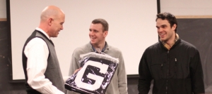 Coach Tod Murphy talks about the famous Gordon blanket