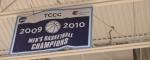 2009-10 CCC championship banner