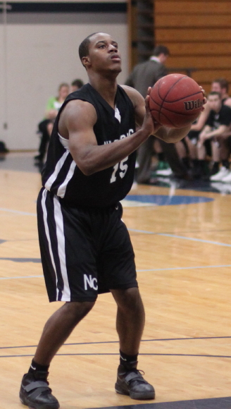 Irving Eggleston (33 points) had a career high against Gordon