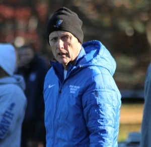 RWU coach Jim Cook