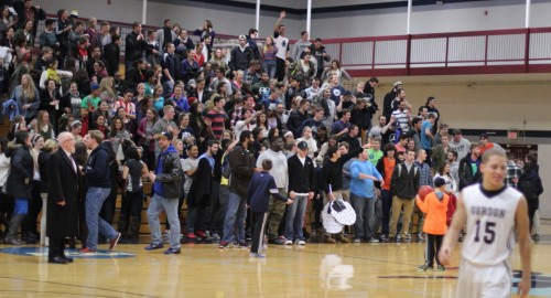 Bennett Center crowd celebrates