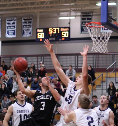 Hans Miersma led a balanced Gordon attack with 17 points, 12 rebounds, and 6 blocks.