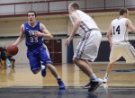 Will Gerencer drives the lane