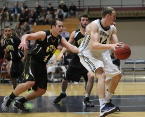 Jason Dempsey had 11 rebounds and points versus Wentworth