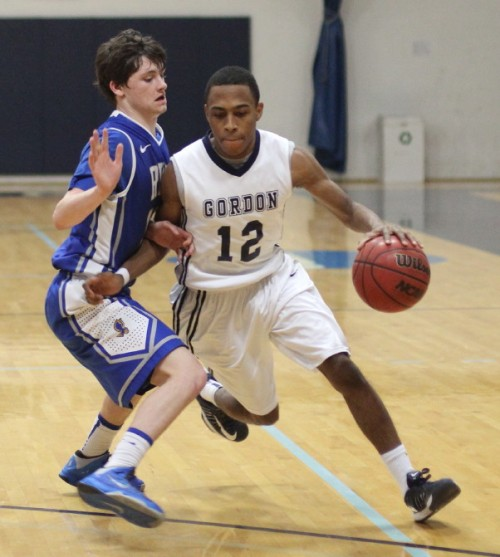 Richie Armand saw his first action for Gordon.  The 5-10 junior had three steals in short minutes