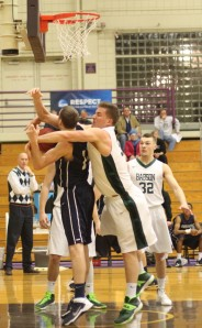 Jason Dempsey gets fouled