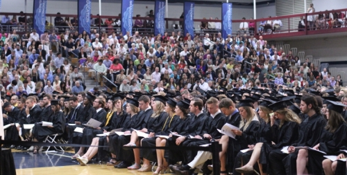 Packed house at the Bennett Center for the 2014 graduation