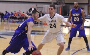 Connor Bras (24) on defense