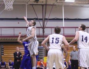 Sam Johnson chases a rebound