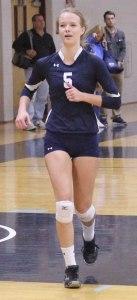 Freshman Renee Cooprider