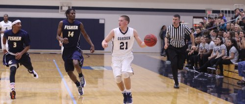 Sophomore Eric Demers collected 23 points in his first game back for the Scots