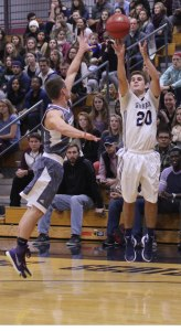 Jake Haar scored nineteen points against Becker on 7-for-8 shooting