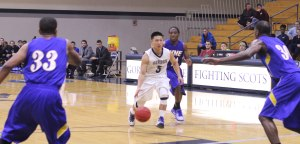 Jaren Yang in a den of Golden Bears