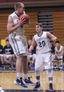 Sam Johnson (12 rebounds) and Jake Haar (11 points)