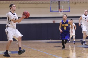Noah Szilagyi (17 points) hit five 3's