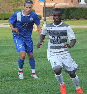 Lucas Watt (27) and Danny Nkhalamba (20)