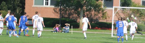Roger Williams gets the tying goal on a Charlie Mader header