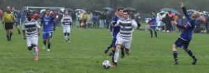 Matt Chartier breaks free for his 6th goal