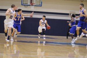 Jaren Yang leads a break